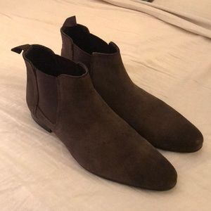 Other - Faux Suede boots-Chocolate